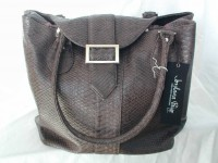 Jordana Paige Black Knitting Bag