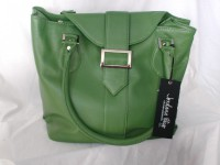 Jordana Paige Green Knitting Bag