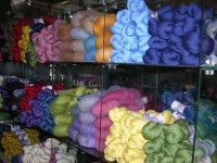 Loaded Yarn Shelves